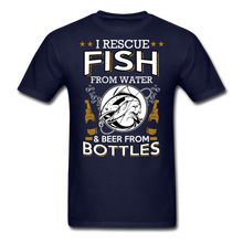Load image into Gallery viewer, I Rescue Fish From Water Men's T-Shirt - Coach Rock