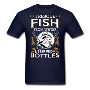 I Rescue Fish From Water Men's T-Shirt - Coach Rock