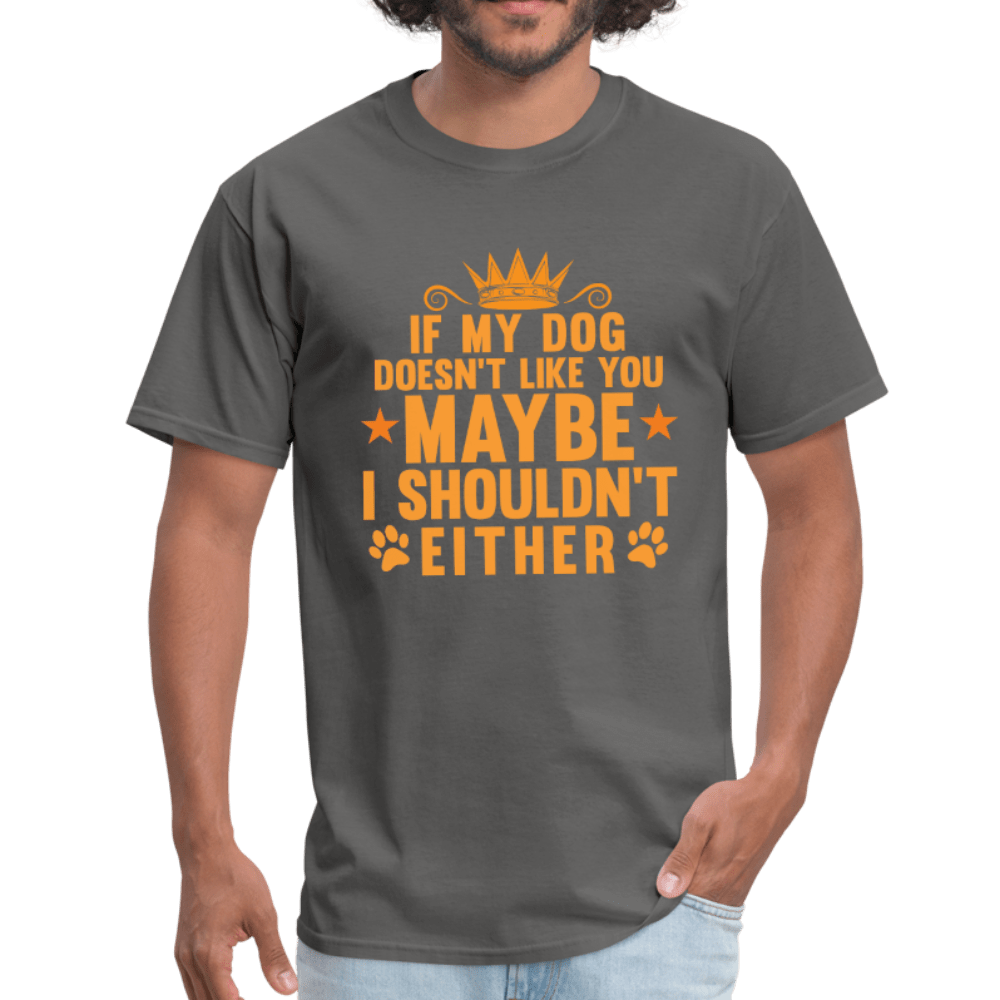 If My Dog Doesn't Like You T-Shirt - Coach Rock
