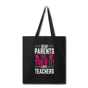 Parents Tag Love Teachers Tote Bag - Coach Rock