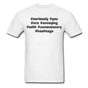 Annoying Hashtag T-Shirt - Coach Rock