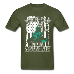 US Veteran Oath Tagless T-Shirt - Coach Rock