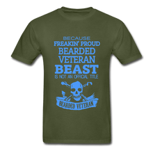 Load image into Gallery viewer, Bearded Veteran Adult T-Shirt - Coach Rock