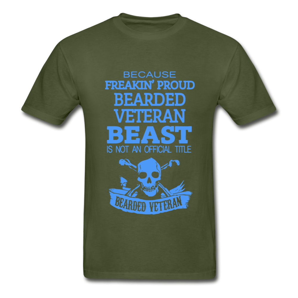 Bearded Veteran Adult T-Shirt - Coach Rock