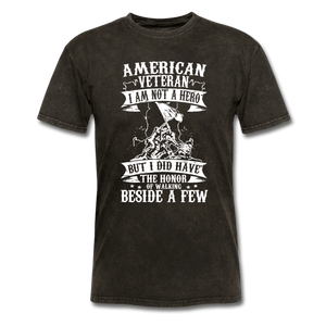 American Veteran T-Shirt - Coach Rock