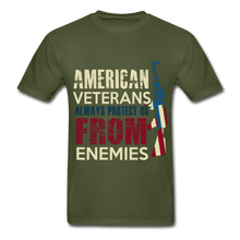 Load image into Gallery viewer, Always Protect Us From Enemies Adult T-Shirt - Coach Rock