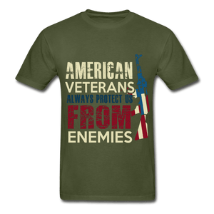 Always Protect Us From Enemies Adult T-Shirt - Coach Rock