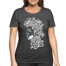 Load image into Gallery viewer, Dearly Beloved Women's Curvy T-Shirt (Plus Size) - deep heather