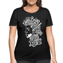 Load image into Gallery viewer, Dearly Beloved Women's Curvy T-Shirt (Plus Size) - black