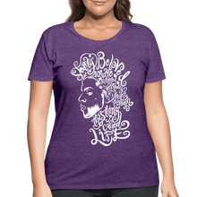 Load image into Gallery viewer, Dearly Beloved Women's Curvy T-Shirt (Plus Size) - heather purple