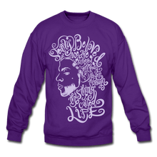 Load image into Gallery viewer, Dearly Beloved Crewneck Sweatshirt - purple