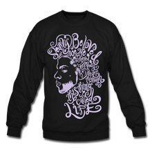 Load image into Gallery viewer, Dearly Beloved Crewneck Sweatshirt - black