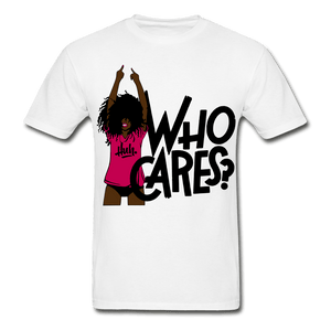 Who Cares? T-Shirt (Unisex) - white
