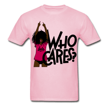 Load image into Gallery viewer, Who Cares? T-Shirt (Unisex) - light pink