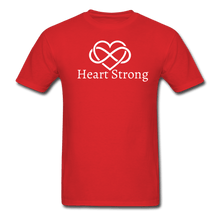 Load image into Gallery viewer, Heart Strong T-Shirt - red