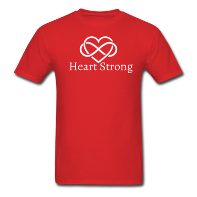 Heart Strong T-Shirt - red
