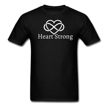 Load image into Gallery viewer, Heart Strong T-Shirt - black