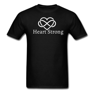 Heart Strong T-Shirt - black