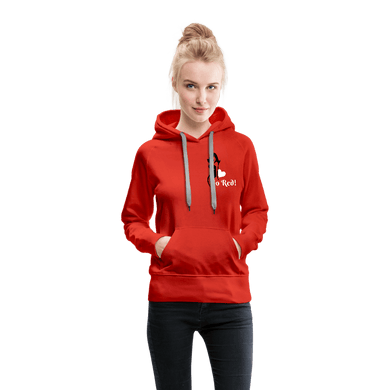Go Red! Women's Hoodie - red