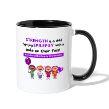 Load image into Gallery viewer, Childhood Epilepsy Mug - white/black