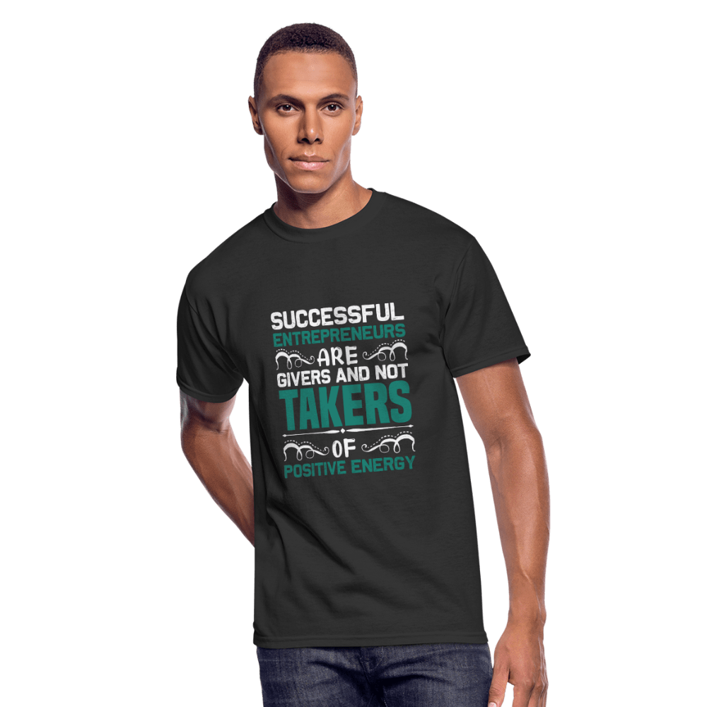 Successful Entrepreneurs T-Shirt - black