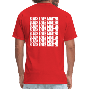 I Have Rights, Black Lives Matter T-Shirt - red