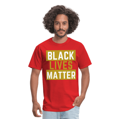 Black Lives Matter T-Shirt - red