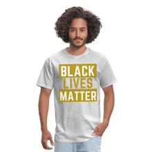 Load image into Gallery viewer, Black Lives Matter T-Shirt - heather gray