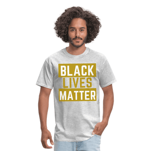 Black Lives Matter T-Shirt - heather gray