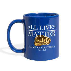 All Lives Matter Mug - royal blue