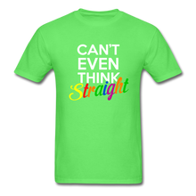 Load image into Gallery viewer, Can't Even Think Straight Pride Classic T-Shirt (Unisex) - kiwi