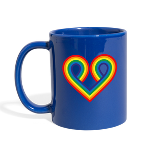 I Have a Big Lesbian Crush On You Mug - royal blue
