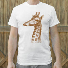Load image into Gallery viewer, Placid Giraffe T-Shirt (Mens) - Coach Rock