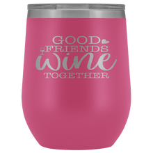 Load image into Gallery viewer, Good Friends Wine Together Stemless Wine Tumbler - Coach Rock