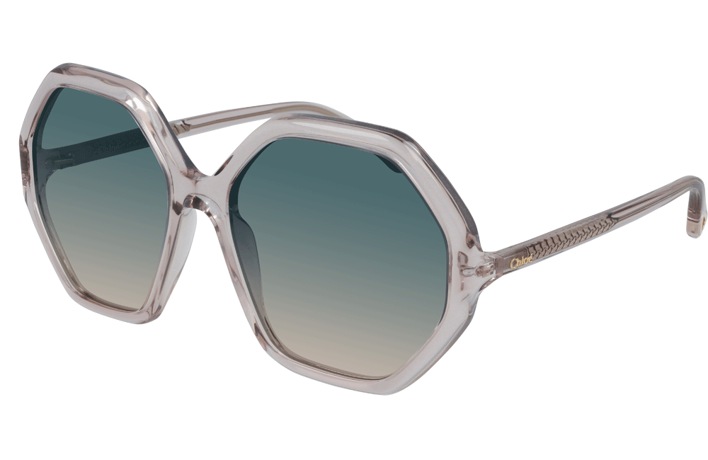 Chloe sunglasses 002 Crystal Chloé CH0008S Ladies Sunglasses