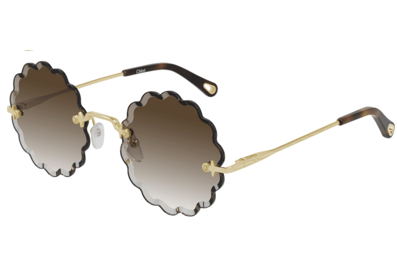 Chloe sunglasses 60mm / 001 Brown/Gold Chloé CH0047S (60mm) Sunglasses