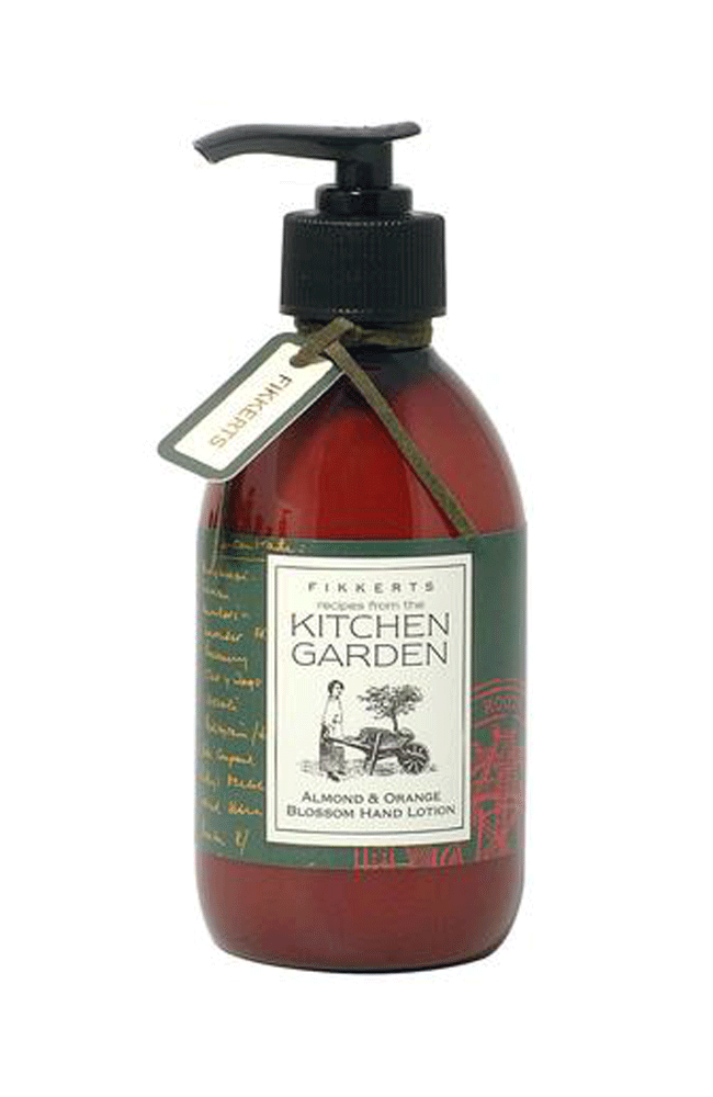 Fikkert's christmas gift ideas Kitchen Garden Almond & Orange Blossom Hand Lotion 300ml