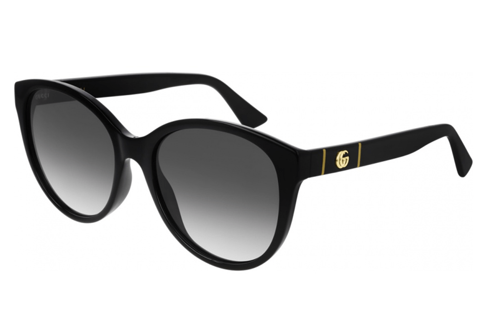Gucci sunglasses 001 black/grey graduated lens Gucci GG00636SK Ladies Sunglasses