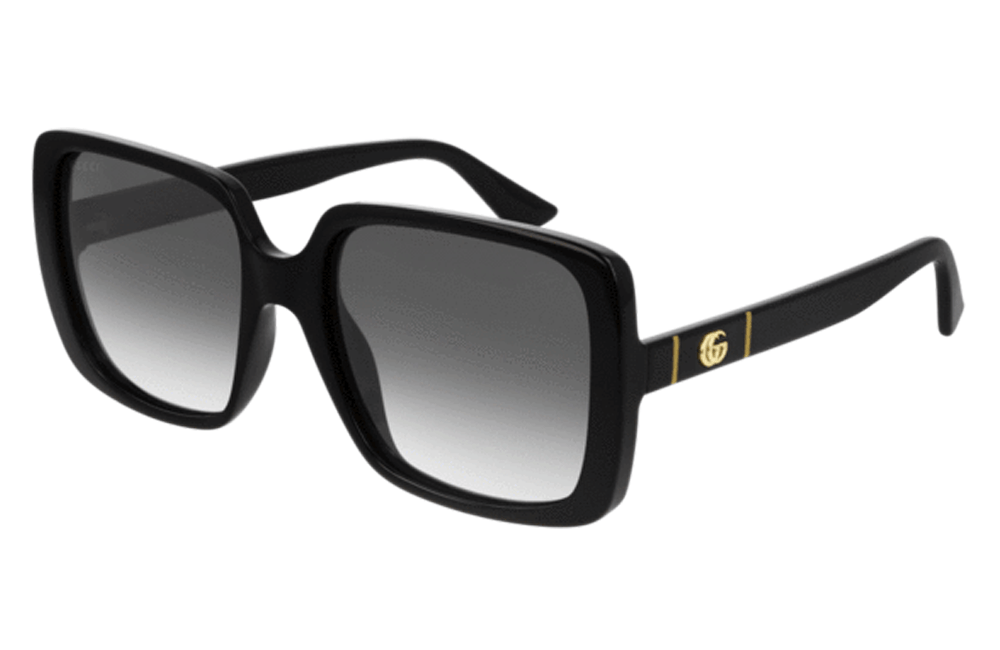Gucci sunglasses 001 Black Gucci GG00632s Big Square Ladies Sunglasses