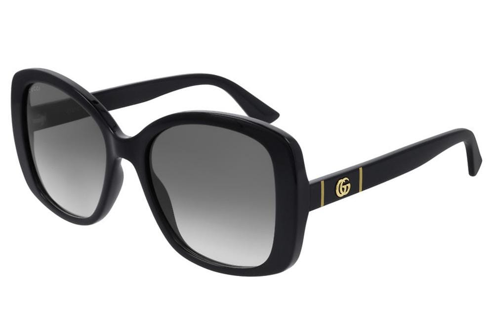 Gucci sunglasses 001 Black Gucci GG0762S Ladies Square Sunglasses