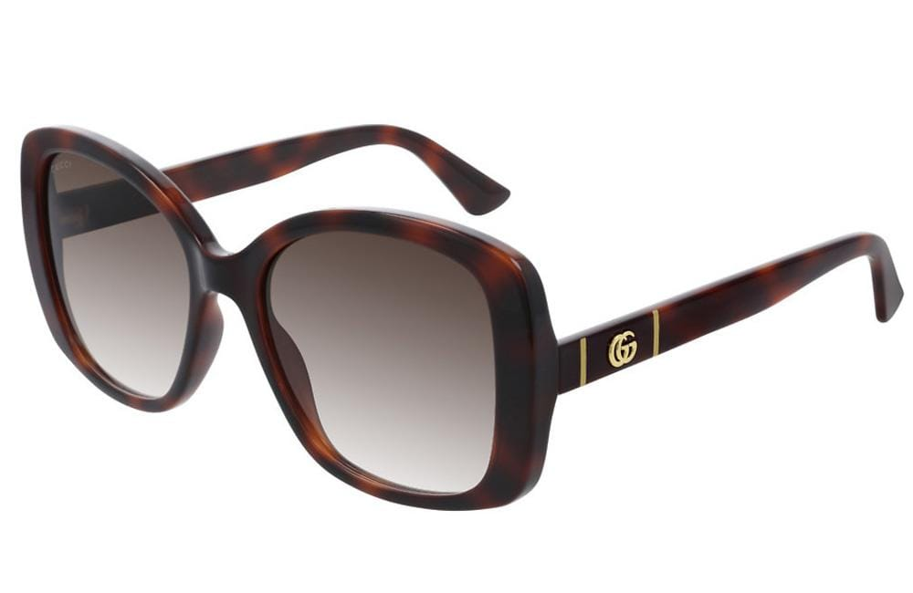 Gucci sunglasses 002 Brown Gucci GG0762S Ladies Square Sunglasses