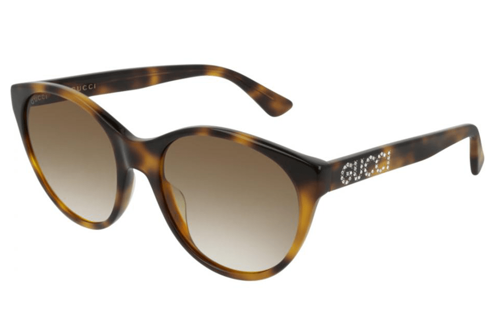 Gucci sunglasses Havana brown 003 Gucci  GG00419S Ladies Sunglasses