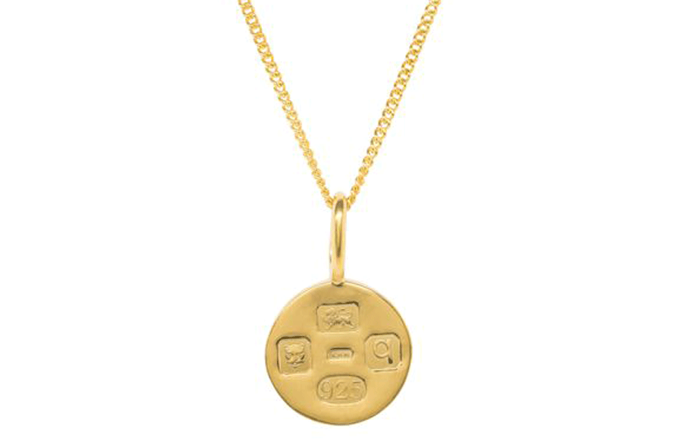Katie Mullally jewellery Katie Mullally Hallmarking Circle Gold Necklace