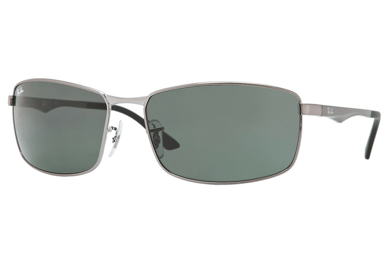Ray-Ban sunglasses 004/71 61mm Gunmetal Ray-Ban RB3498 004/71 61mm Mens Sunglasses