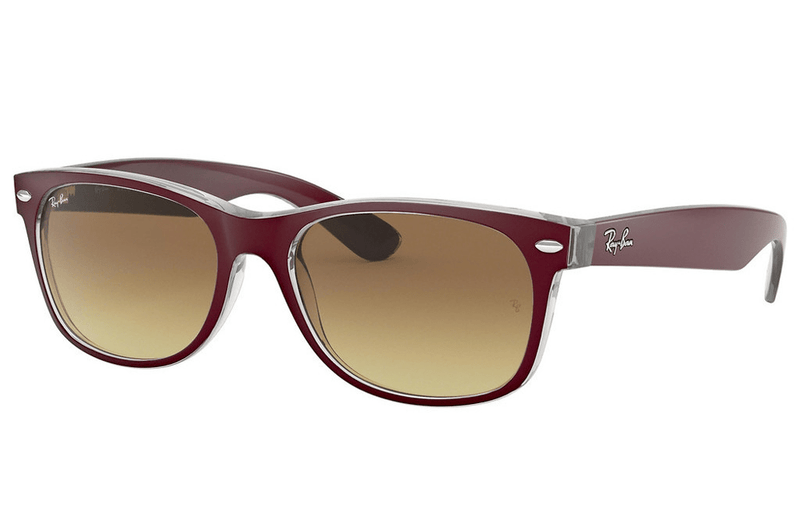 Ray-Ban sunglasses 55mm / 6054/85 cherry/brown Ray-Ban New Wayfarer Sunglasses RB2132 55mm