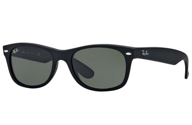 Ray-Ban sunglasses 55mm / 622 black rubber/grey Ray-Ban New Wayfarer Sunglasses RB2132 55mm