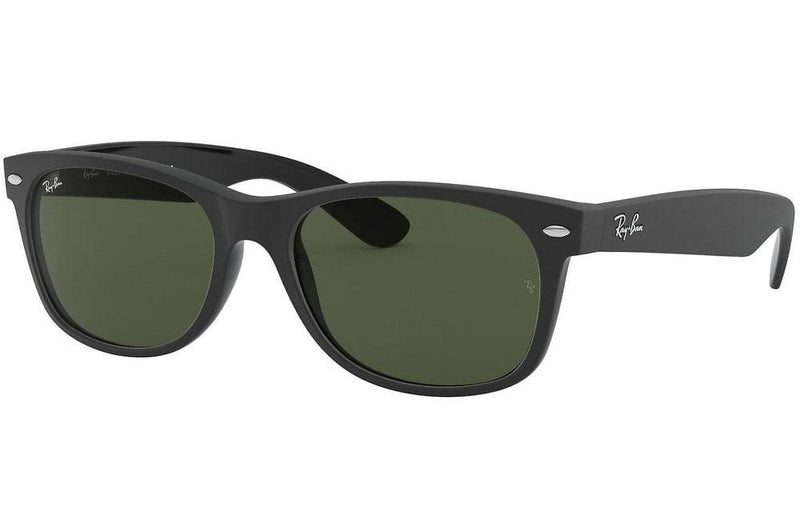 Ray-Ban sunglasses 55mm / 646231 matte black/G15 Ray-Ban New Wayfarer Sunglasses RB2132 55mm