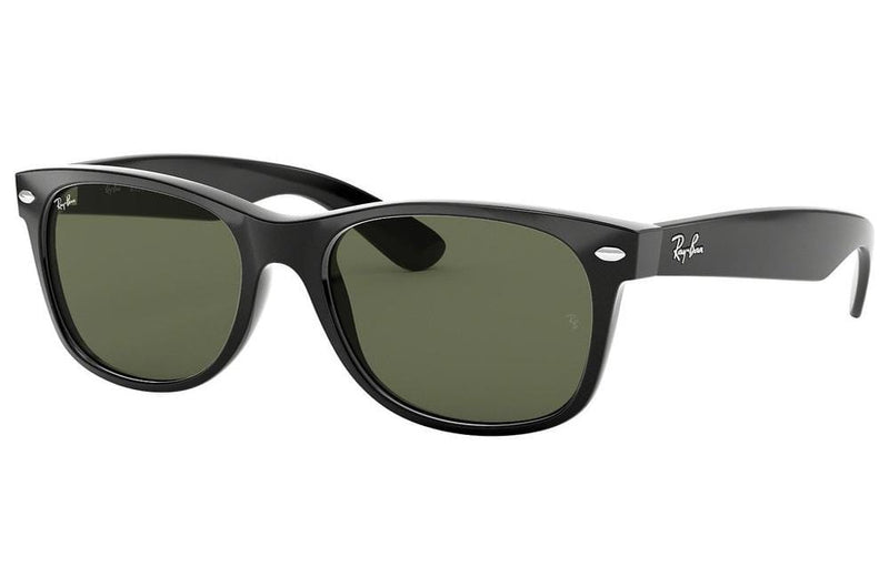 Ray-Ban sunglasses 58mm / 901 polished black/G15 lens Ray-Ban New Wayfarer Sunglasses RB2132 55mm