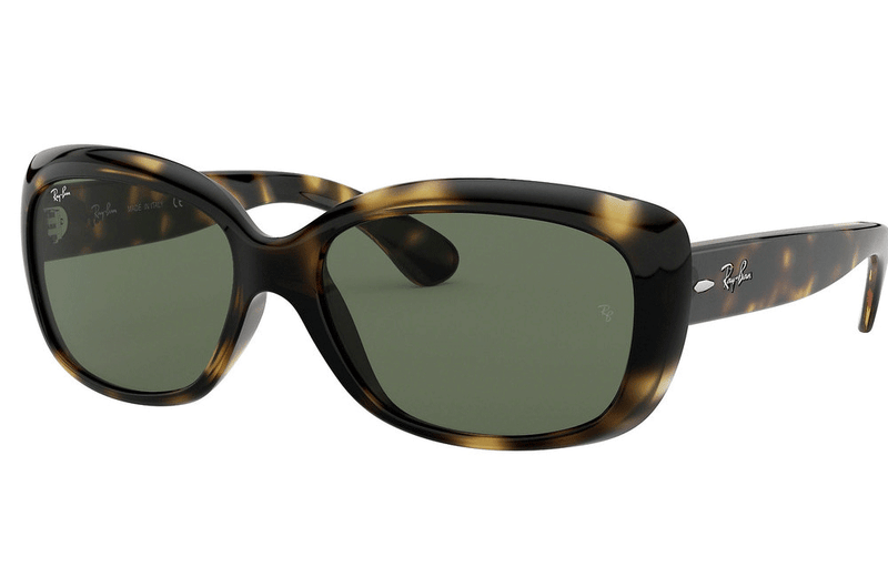 Ray-Ban sunglasses 710 Havana/Dark Green / 58mm Ray-Ban RB4101 Jackie Ohh Ladies Sunglasses