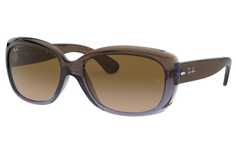 Ray-Ban sunglasses 860/51 Mauve/Brown Ray-Ban Jackie Ohh Ladies Sunglasses  RB4101  58mm